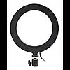 Кольцевая LED лампа 20 см селфи кольцо для блогера, фото 2