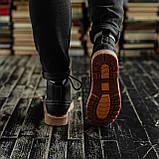 Мужские зимние ботинки South Rebel black. Натуральная кожа и мех. Премиум качество, фото 2