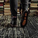 Мужские зимние ботинки South Craft black. Натуральная кожа и мех. Премиум качество, фото 4