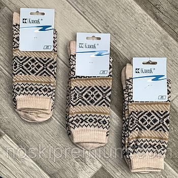Шкарпетки жіночі напівшерстяні Класик, арт.15В-75, 23 розмір, бежеві, 05916