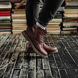 Мужские зимние ботинки South Warfare coffe. Натуральная кожа и мех. Премиум качество, фото 2