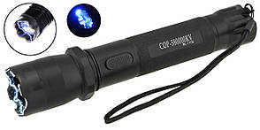 Мультифункціональний тактичний ліхтарик з відлякувачем COP BL-1102 (4338)
