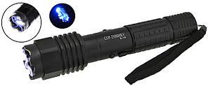 Многофункциональный тактический фонарик (отпугиватель) COP BL-1103 Black (4339)