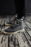 Мужские зимние ботинки South Killers blue. Натуральная замша и мех. Премиум качество, фото 3