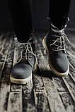 Мужские зимние ботинки South Killers blue. Натуральная замша и мех. Премиум качество, фото 4