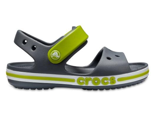 Сандалии детские Crocs Bayaband Kids серые J1/ 20.0 – 20.5 см
