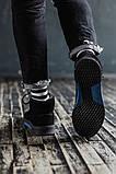Мужские зимние ботинки South Oriole black. Натуральная замша и мех. Премиум качество, фото 5