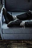 Мужские зимние ботинки South Oriole black. Натуральная замша и мех. Премиум качество, фото 4