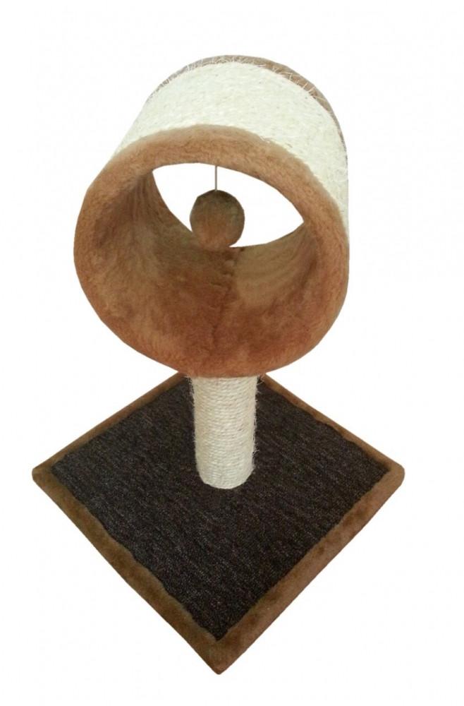 Когтеточка для котів Арена сизаль 37×37 см, h48