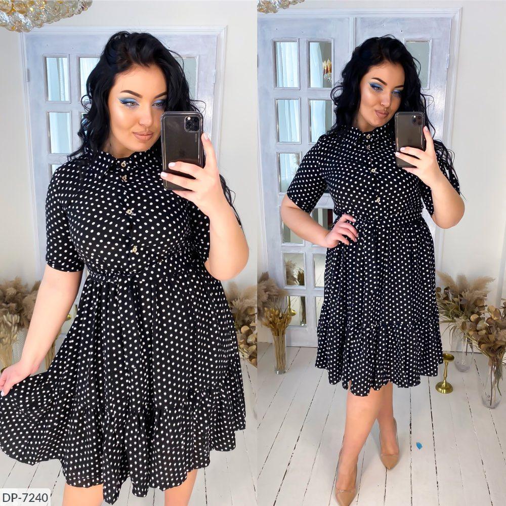 Платье в больших размерах (DG-ак 0567)