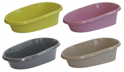 Туалет для кошек Baffo 40х30х14 cм, цвета в ассортименте