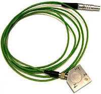 Вибропреобразователь AP2082М-100 трехкомпонентный с трехштырьковым разъемом и со встроенной электроникой (ICP, IEPE)