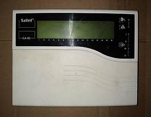 Б/У Жидкокристалическая клавиатура Satel CA-10 KLCD для ППК CA-10. Клавиатура с ЖК дисплеем на 2 зоны, фото 2