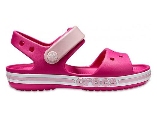 Детские сандалии Crocs Bayaband Kids розовые J2/ 21.0 – 21.5 cм