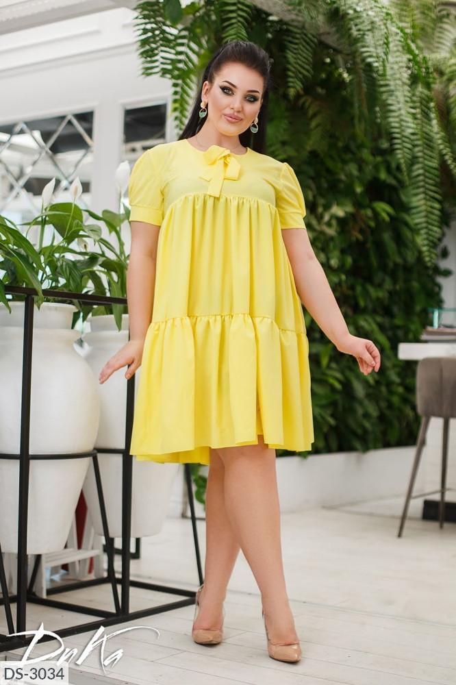 Платье в больших размерах (DG-ак 0577)