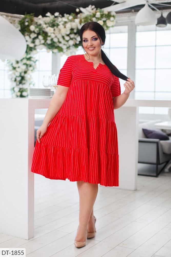 Платье в больших размерах (DG-ак 0582)