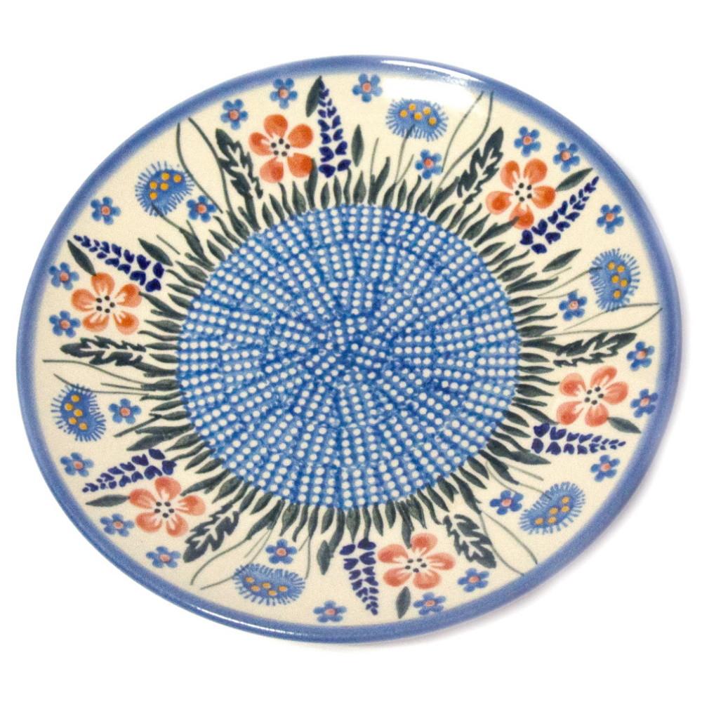 Тарелка десертная, закусочная керамическая Ø19 Весна
