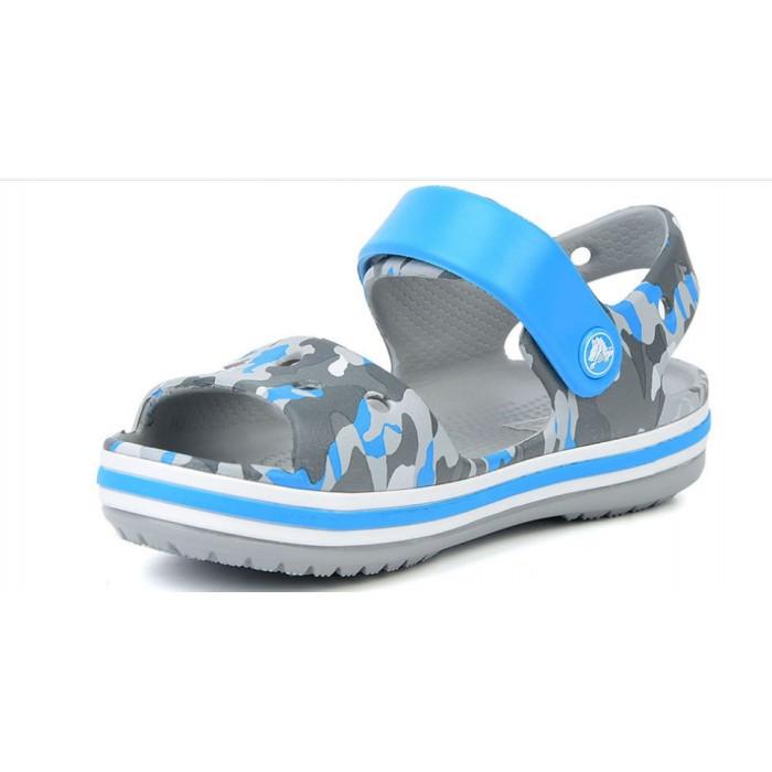 Детские сандалии Crocs Bayaband Kids светло-серые С7 / 14,0 – 14,5 см