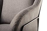 Мягкое кресло Дарио серое ткань Vetro Mebel (бесплатная доставка), фото 10