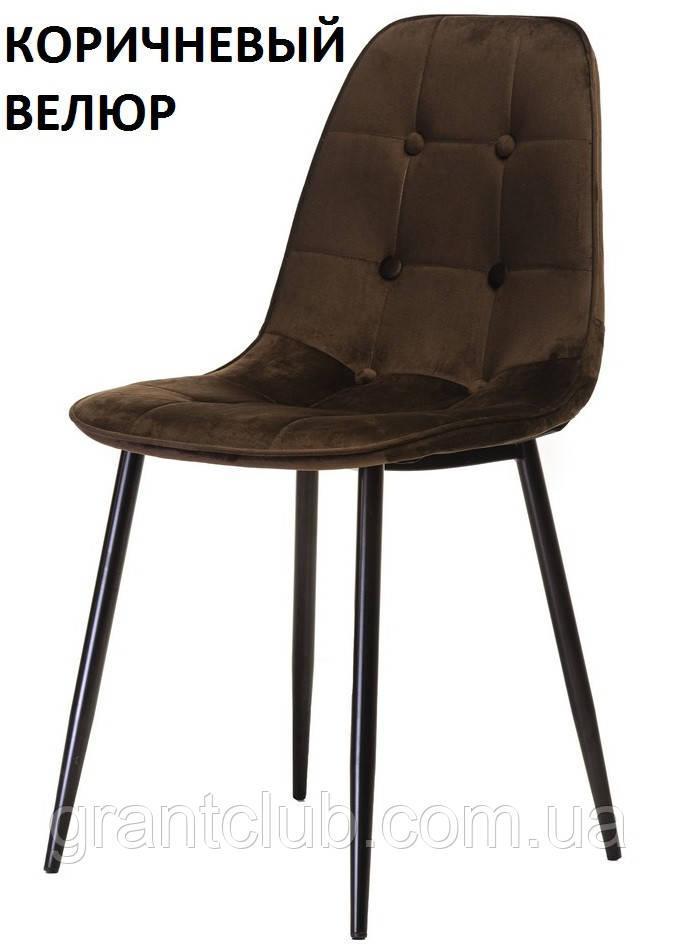Cтул M-01-3 коричневый вельвет (бесплатная доставка)