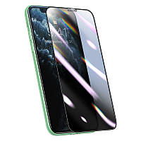 Захисне скло Baseus Full-screen Curved Privacy Composite Film For iPhone XR/11 /0.25 mm/
