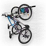 Кріплення для двох велосипедів на стіну вертикально VL5 Kenovo, фото 2