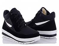 Зимние женские кроссовки BR-S высокие черные 38 р. 25 см (1258166389)