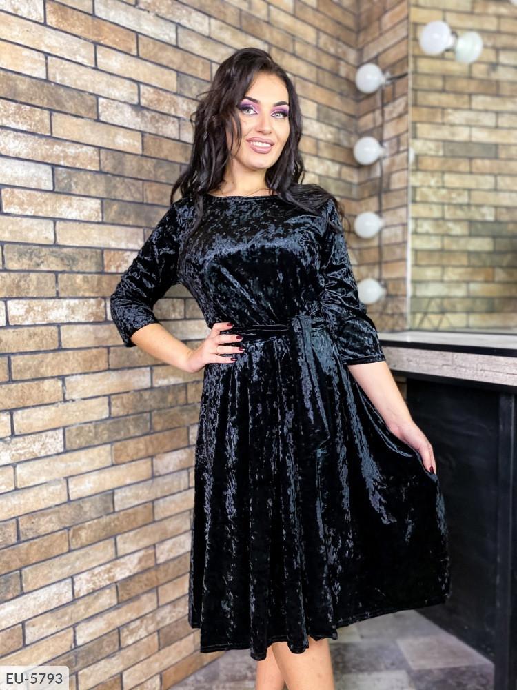 Платье в больших размерах в расцветках (DG-д41381)