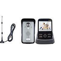 """Беспроводной видеодомофон с датчиком движения, 3,5"""" дюймовым монитором Kivos KDB302A+, дальностью до 300"""