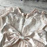 Нарядное  платье на девочку, крестильное платье на девочку 21. Размеры 68 см, 74 см, 80 см, фото 2