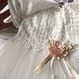 Нарядное платье на девочку 267. Размер 74 см, 80 см, 86 см, фото 3