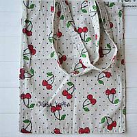 Эко сумка (торба) Вишенки