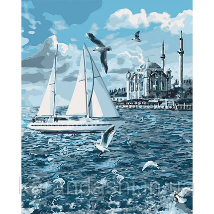 Картины по номерам -Прогулка по Босфору (КНО2743), 40*50см без коробки, фото 2