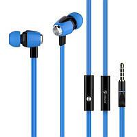 HF MP3 Celebrat S30 Blue + микрофон + кнопка ответа на звонок