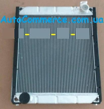 Радиатор системы охлаждения Dong Feng 1064, 1074, Богдан DF-47, фото 2