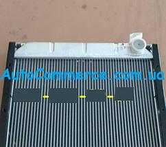 Радиатор системы охлаждения Dong Feng 1064, 1074, Богдан DF-47, фото 3
