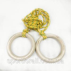 Кольца гимнастические детские  Д-140мм UA-175