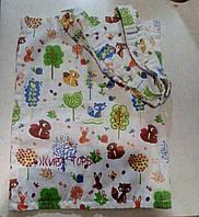 Эко сумка (торба) Сказочный лес