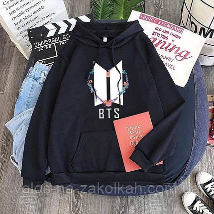 Свитшот женский BTS кофта BTS БТС свитер реглан подростковый женский, фото 2