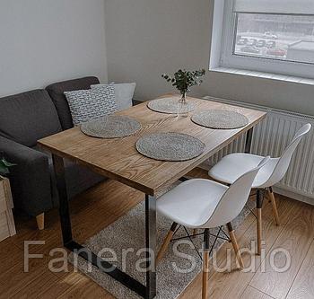 Деревянный стол в стиле loft Ясень