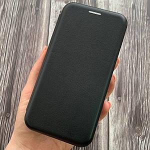 Чехол книжка с магнитом для Meizu M5C эко кожа подставка чехол книга на мейзу м5с м5ц черная