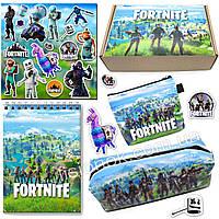 Бокс Фортнайт (пенал, блокнот, кошелек, наклейки) – отличный подарок любителям игры Fortnite, фото 1