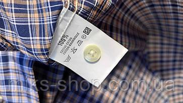 Чоловіча сорочка теніска Розмір S ( Я-177), фото 3