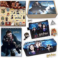Бокс Гарри Поттер (пенал, блокнот, кошелек, наклейки) – отличный подарок любителям книги Harry, фото 1