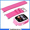 Дитячі Розумні годинник з GPS Smart baby watch Q90 рожеві - Дитячі смарт годинник-телефон з трекером і кнопкою, фото 2