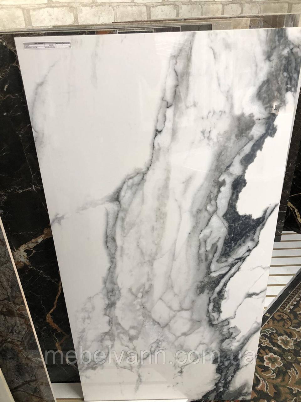 Керамогранит 60*120 Bianco полированный