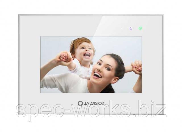 """Видеодомофон QV-IDS4770QW 7"""" Wi-Fi AHD 1080P"""