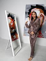Шикарная велюровая нарядная пижама, фото 1