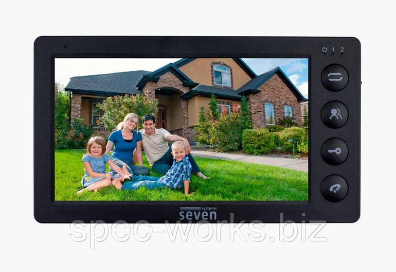 Домофон видеомонитор SEVEN DP–7574 FHD
