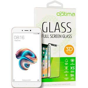 Захисне скло 3Д на Huawei P Smart Plus/Nova 3i з білим краєм для захисту екрана телефона.